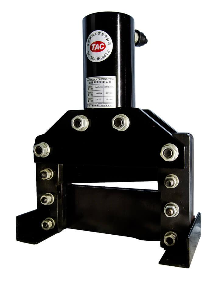 Máy cắt thanh cái đồng 20 tấn TAC CWC-150
