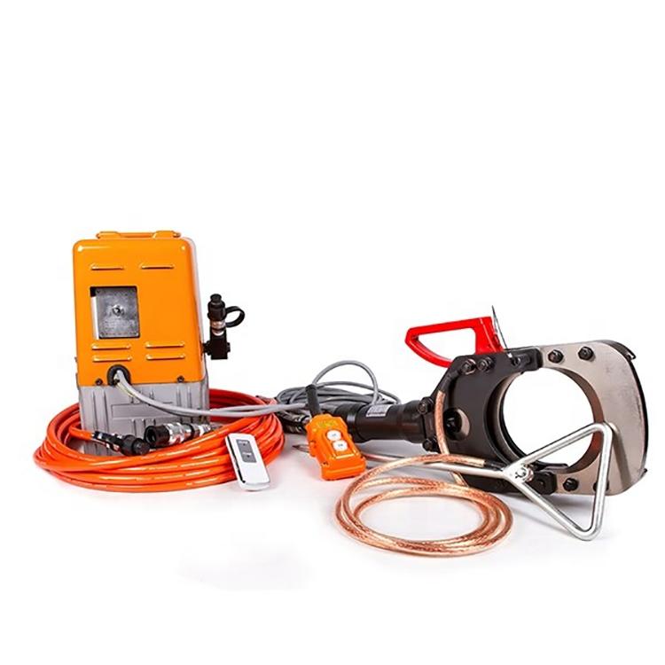 Đầu cắt cáp thủy lực dùng bơm điện EICT-132-35KV